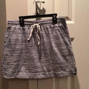 Loft Pico Knit Mini Skirt